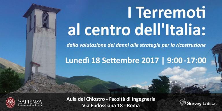 I Terremoti al centro dell'Italia: dalla valutazione dei danni alle strategie per la ricostruzione